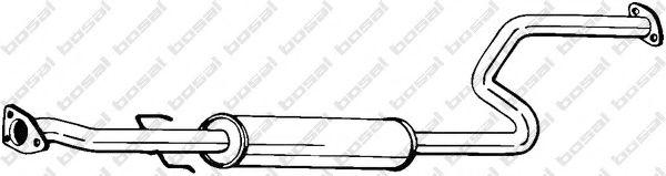 Средний глушитель выхлопных газов BOSAL арт. 283233
