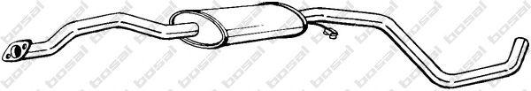 Средний глушитель выхлопных газов BOSAL арт. 285937