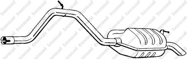 Глушитель выхлопных газов конечный BOSAL арт. 278091