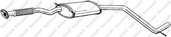 Средний глушитель выхлопных газов BOSAL арт. 285851