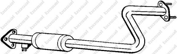 Средний глушитель выхлопных газов BOSAL арт. 163435