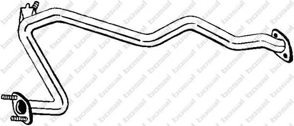 Труба выхлопного газа BOSAL арт. 887393