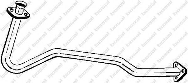 Труба выхлопного газа BOSAL арт. 802441