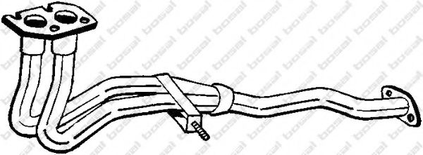 Труба выхлопного газа BOSAL арт. 789133