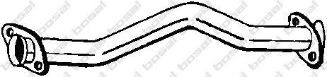 Труба выхлопного газа BOSAL арт. 738153