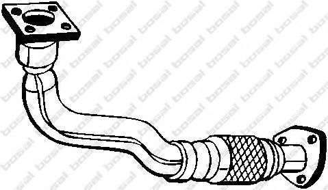 Труба выхлопного газа BOSAL арт. 753175