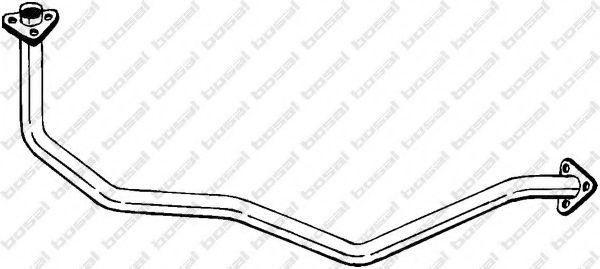 Труба выхлопного газа BOSAL арт. 884159