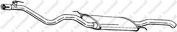 Глушитель выхлопных газов конечный BOSAL арт. 285901
