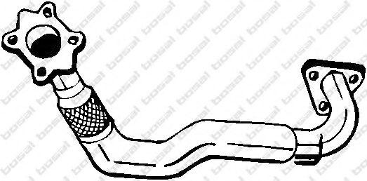 Труба выхлопного газа BOSAL арт. 753317