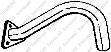 Труба выхлопного газа BOSAL арт. 330251