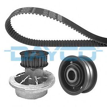 Водяной насос + комплект зубчатого ремня DAYCO арт. KTBWP2130