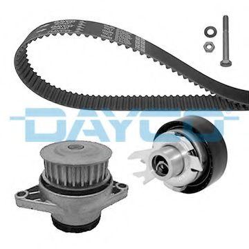 Водяной насос + комплект зубчатого ремня DAYCO арт. KTBWP2550