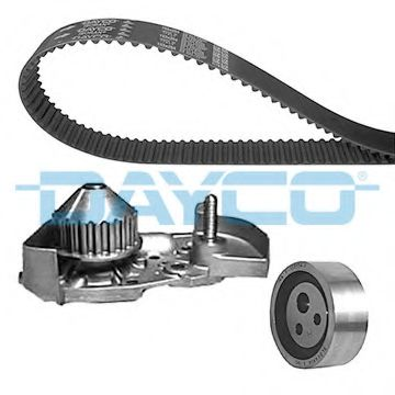 Водяной насос + комплект зубчатого ремня DAYCO арт. KTBWP2590