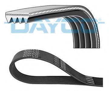 Дорiжковий ремінь Dayco 4PK1272