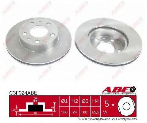 Тормозной диск ABE арт.