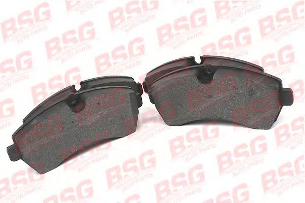 Комплект тормозных колодок, дисковый тормоз BSG арт.