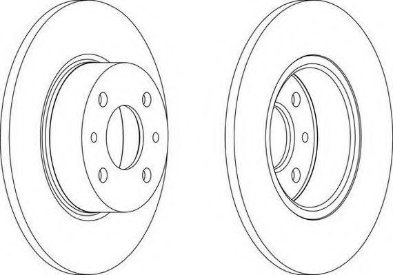 Тормозной диск WAGNER арт. WGR00661