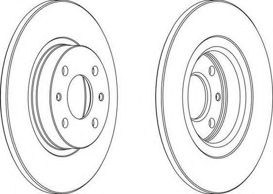 Тормозной диск WAGNER арт. WGR01411