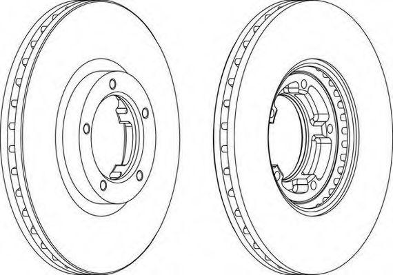 Тормозной диск WAGNER арт.