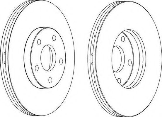 Тормозной диск WAGNER арт. WGR11721