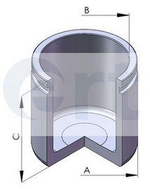 Поршень, корпус скобы тормоза ERT арт. 150695C