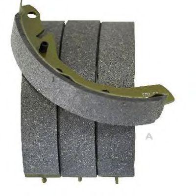 Комплект тормозных колодок ASAM арт.