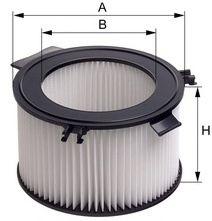 Фильтры воздуха салона автомобиля Фильтр, воздух во внутренном пространстве MFILTER арт.