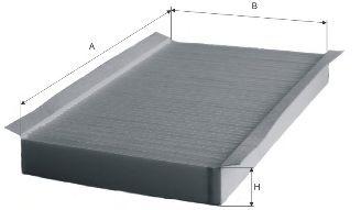 Фильтры прочие Фильтр, воздух во внутренном пространстве MFILTER арт.