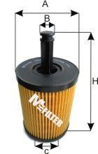 Фильтры масляные Масляный фильтр MFILTER арт.