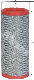 Фильтры воздуха салона автомобиля Воздушный фильтр MFILTER арт. A1025