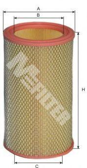 Воздушный фильтр MFILTER арт. A107