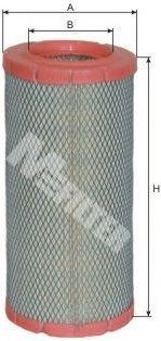 Фильтры воздуха салона автомобиля Воздушный фильтр MFILTER арт. A1073