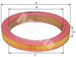 Воздушный фильтр MFILTER арт. A115