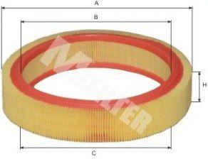 Воздушный фильтр MFILTER арт. A117