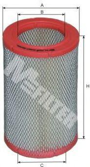 Фильтры воздуха салона автомобиля Воздушный фильтр MFILTER арт. A367