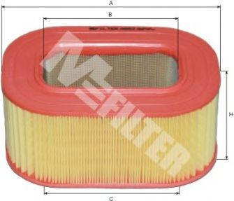 Фильтры воздуха салона автомобиля Воздушный фильтр MFILTER арт. A552