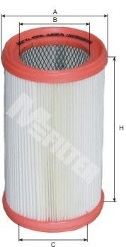 Фильтры воздуха салона автомобиля Воздушный фильтр MFILTER арт. A553