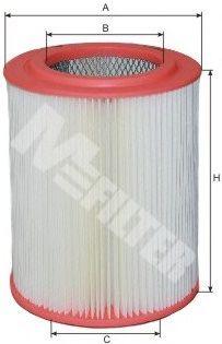 Фильтры воздуха салона автомобиля Воздушный фильтр MFILTER арт. A565