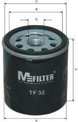 Масляный фильтр MFILTER арт. TF32