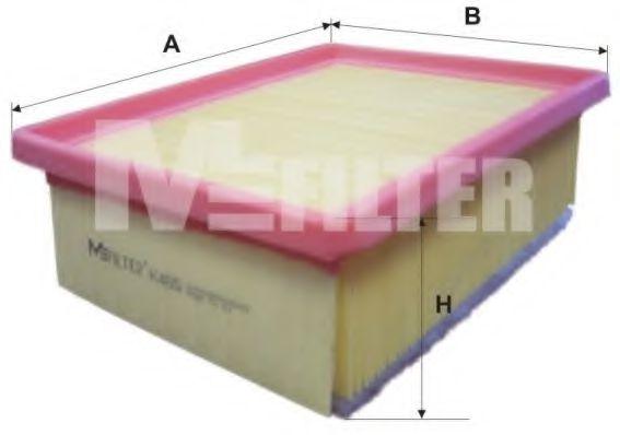 Воздушный фильтр MFILTER арт. K465
