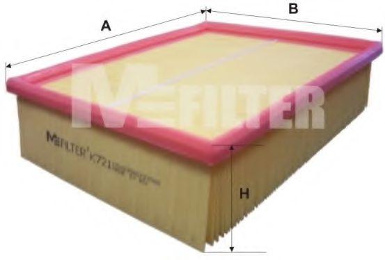 Фильтры прочие Воздушный фильтр MFILTER арт. K721
