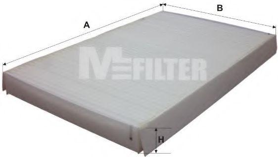 Фильтры прочие Фильтр, воздух во внутренном пространстве MFILTER арт. K929