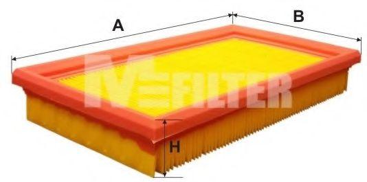 Воздушный фильтр MFILTER арт. K190