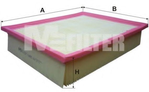 Фильтры прочие Воздушный фильтр MFILTER арт. K485