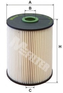 Топливный фильтр MFILTER арт.