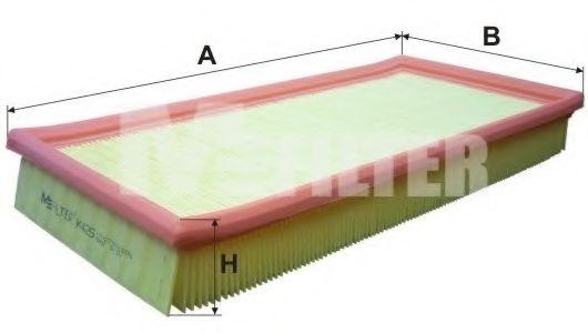Фильтры прочие Воздушный фильтр MFILTER арт.