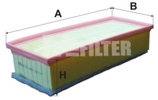 Воздушный фильтр MFILTER арт. K4951