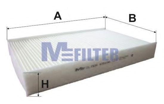 Фильтр, воздух во внутренном пространстве MFILTER арт.