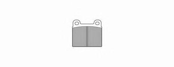 Комплект тормозных колодок, дисковый тормоз SIMER арт. 091