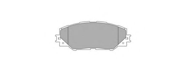 Комплект тормозных колодок, дисковый тормоз SIMER арт.